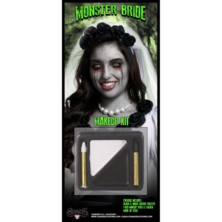 Halloween Monster Bride Makeup Kit - Makeup Artist Halloween Ideas