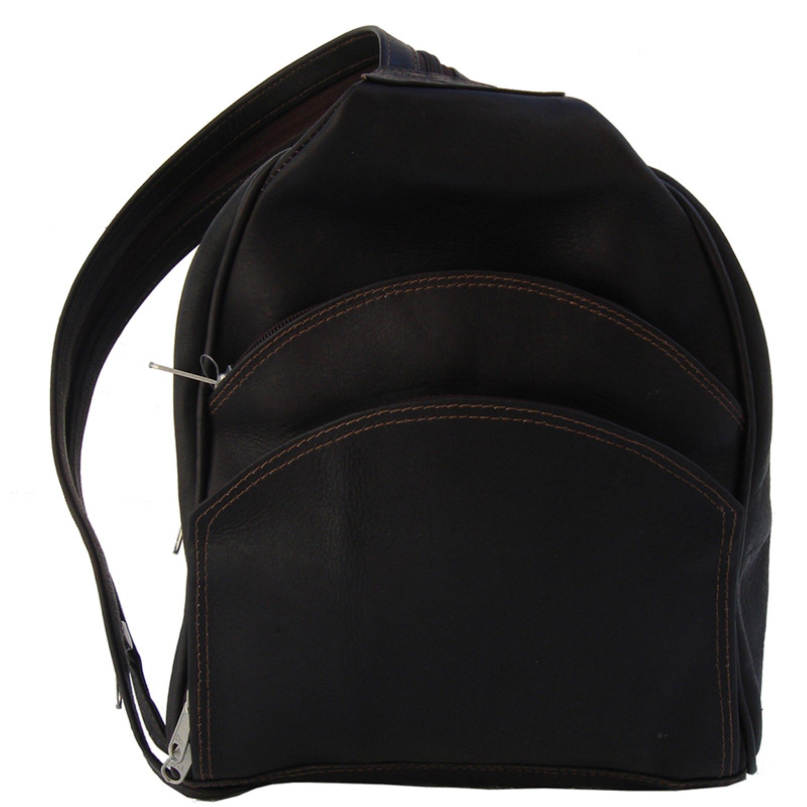Piel Leather Backpack Sling - Chocolate