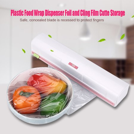 VGEBY Cling Film Cutter, Plastic Food Wrap Dispenser Wrap Cutter Foil and  Cling Film For Kitchen Storage