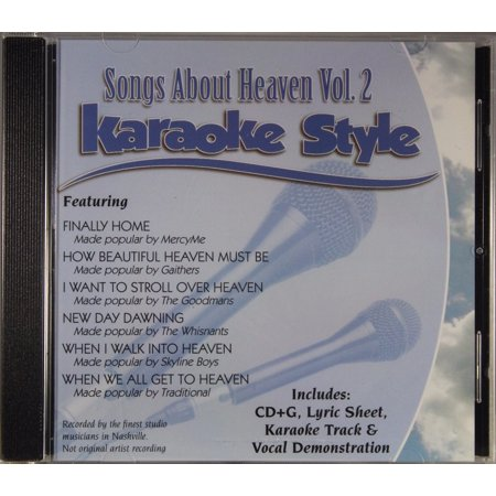 Musical Instruments & Gear Smart Songs About Heaven Volume 2 Christian Karaoke Style New Cd+g Daywind 6 Songs Karaoke Cdgs, Dvds & Media