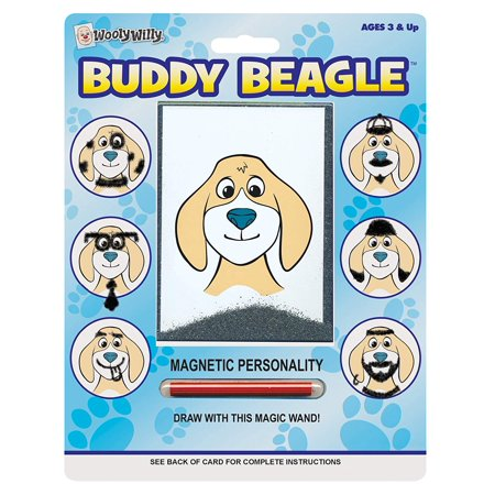 Wooly Willy Magnetic Personalities - Buddy Beagle, 38 By Patch Products Inc - Mommy Patch Products
