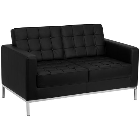 Flash Furniture Hercules Lacey Series Leather Love Seat,