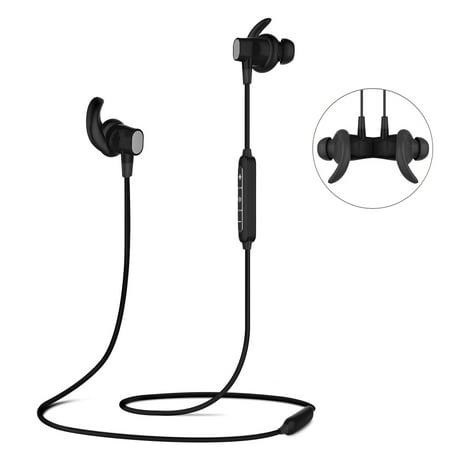 Ele Bluetooth Stereo Earphone Headset Wireless Magnetic In Ear Earbuds Headphone Walmart Canada