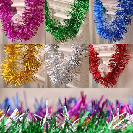 Obstce 2m Christmas Tree Garland Ornament Party Wedding Festival Decoration - Christmas Garland Decorations