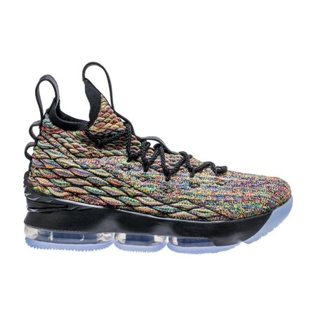 5bfe29cd6e4 Nike - Mens Nike LeBron 15 XV Cereal Fruity Pebbles Black Multi Color  897648- - Walmart.com
