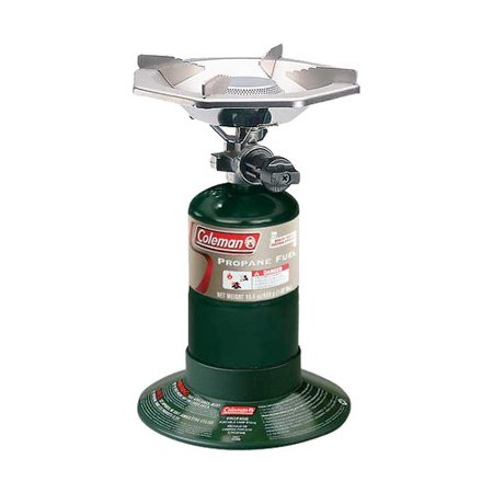 - Coleman 10,000 BTU One-Burner Propane Camp Stove