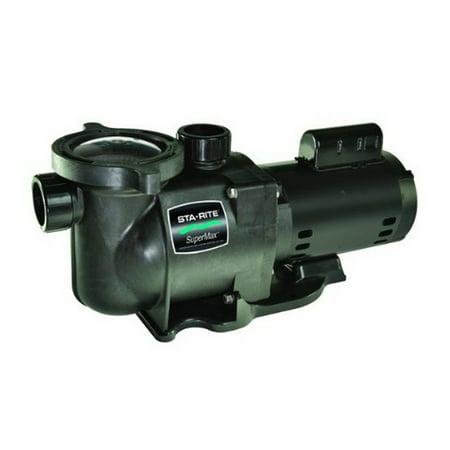 Pentair v103L Sta-Rite Supermax 1.5 HP Swimming Pool 115-230 Volt Pump ()