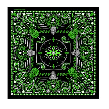 New Mens Paisley Light (Officially Licnesed, Signature Bikers Bandanas Collection Original Design, 21