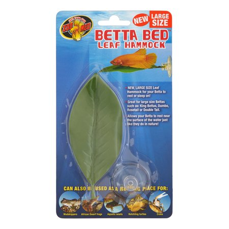 Zoo Med Betta Leaf Hammock Fish Bed, Large