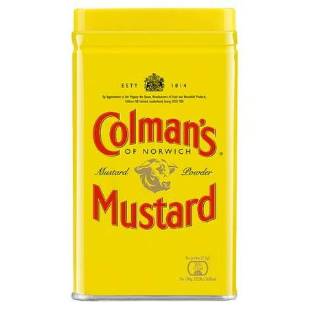 - Colman's Dry Mustard 4 oz