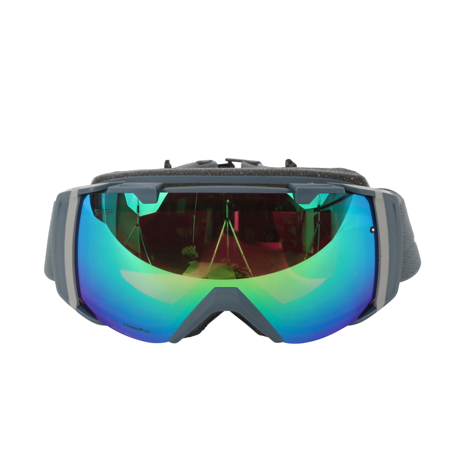 Smith Optics Thunder Split ChromaPop Everyday I O Interchangeable Snow Goggles by Smith Optics
