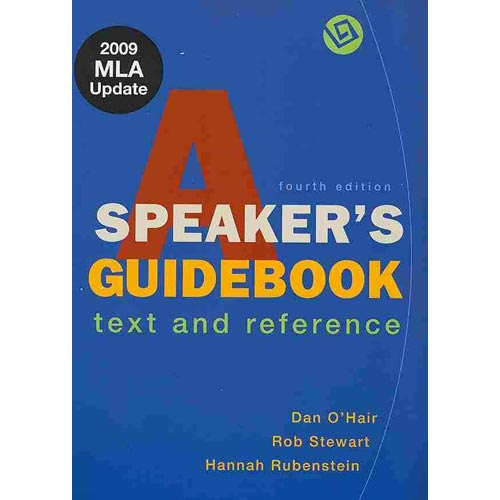 A Speaker's Guidebook: Text and Reference [With The Essential Guide to Rhetoric]