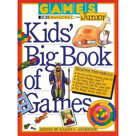 Games Magazine Junior Kids' Big Book of Games - - Game Informer Magazine