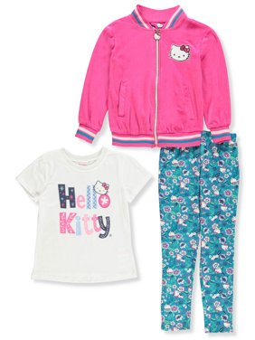 74972433e4 Product Image Hello Kitty Girls  3-Piece Leggings Set Outfit
