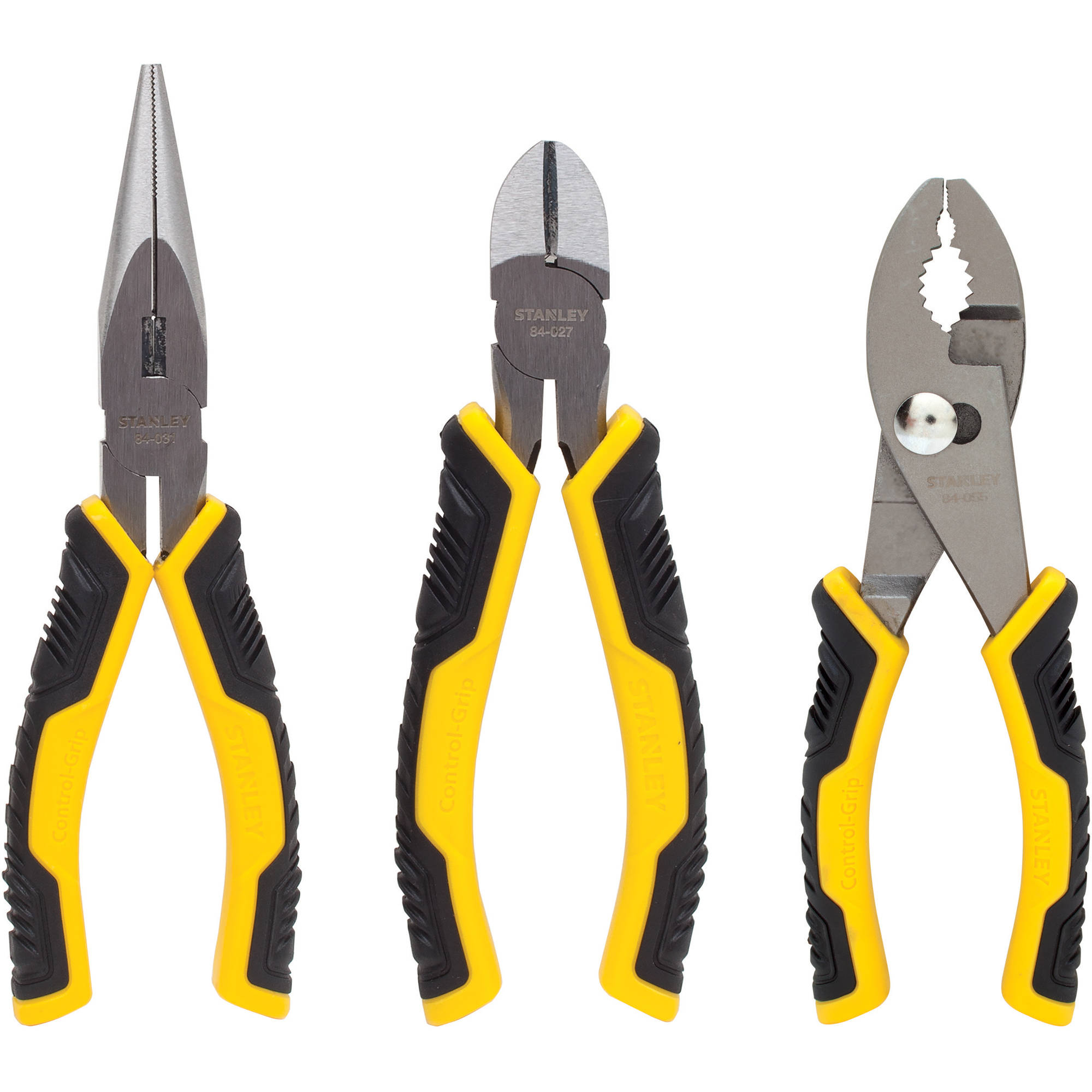 Stanley 3-Piece Plier Set, 84-056