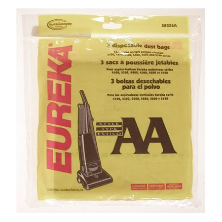 Eureka Type Aa Whirlwind Vacuum Bag Set Of 3
