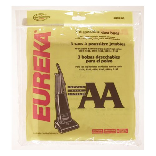 Eureka Type AA Whirlwind Vacuum Bag (Set of 3)