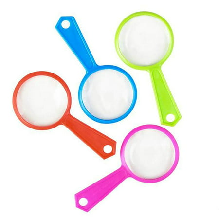 Magnifying Glasses - 144 Pack of Plastic Enlarging Glasses, Party Favors or Loot Bags Fillers, Gift Ideas, Children Educational Toy, Finding Easter Eggs Gadget, Party (Best Loot Bag Ideas)
