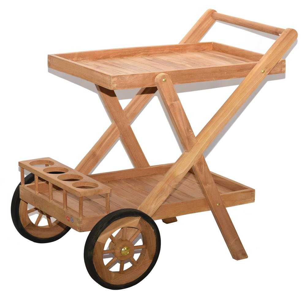 Teak Serving Cart by Bamboo54 Inc