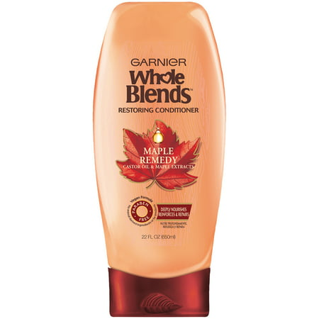 - Garnier Whole Blends Maple Remedy Restoring Conditioner 22 fl. oz. Bottle