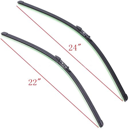 MATCC RHD Car Front Windshield Wiper Blade Winshield Window Blade Left Right 22