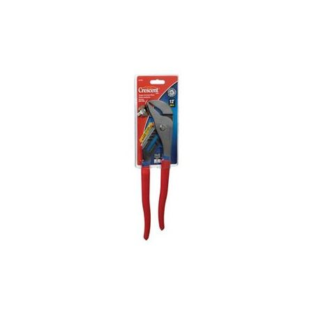 """Crescent Straight Jaw Tongue and Groove Pliers, 12"""", Cushion Grip"""