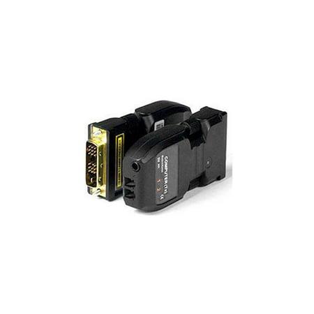 NTI FIBER-D-LCLC-50-100M DVI Extender via Two Singlemode Optic Cable w/2-Yr Warranty Dvi Fm1000 Extender