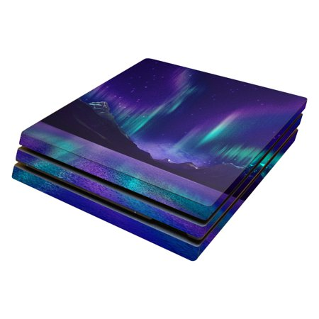 Skin Decal Wrap for Sony PlayStation 4 Pro PS4 Aurora