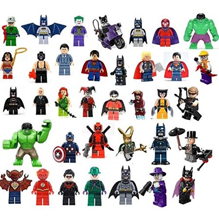 36 EDIBLE IMAGE LEGO SUPER HEROES CAKE & CUPCAKE - Edible Letters For Cakes