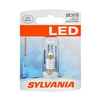 Sylvania DE3175 White LED Automotive Mini Bulb, Pack of 1.