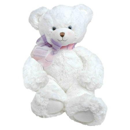 First & Main Plush Stuffed White Bear, 15