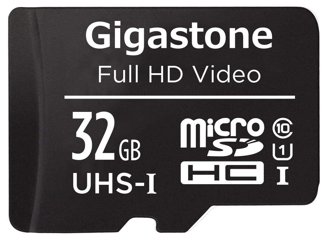 Gigastone 32GB Micro SD Card with Adapter Full HD available U1 C10 Class 10 90MB//S Full HD Video Series Micro SDHC UHS-I Memory Card