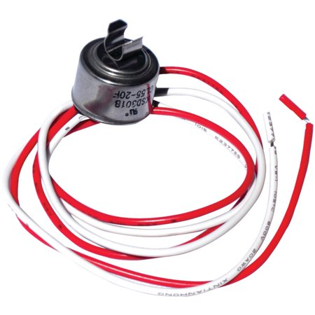 NAPCO CL50 Universal Refrigerator Defrost Thermostat with Clips 50