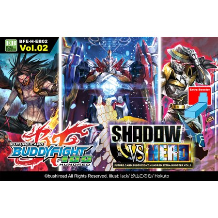 Future Card BuddyFight 100 Hundred Shadow vs  Hero Extra Booster Box
