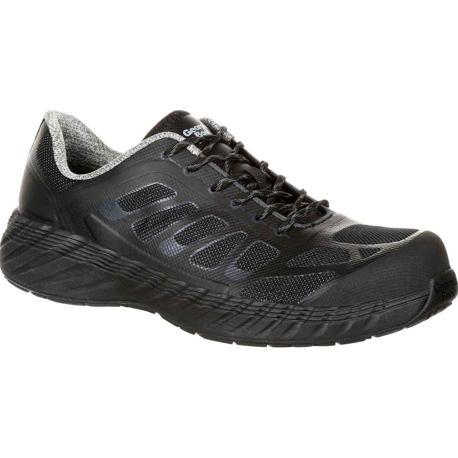 Georgia Boot Men's Black ReFLX Composite Toe Athletic Work Shoe GB00220 by Georgia