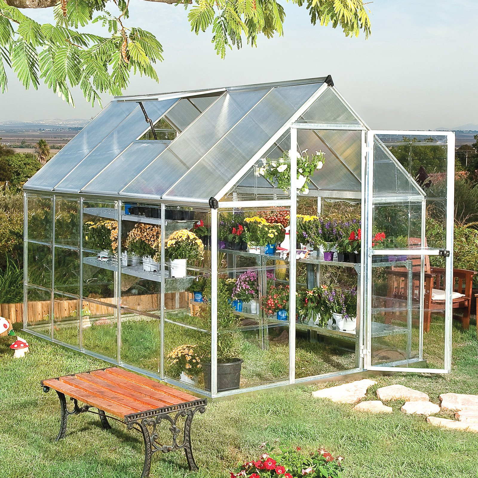 Palram Nature Hybrid Greenhouse by Poly-Tex Inc