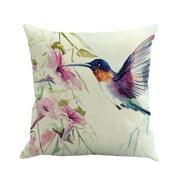 QTBIUQ Art Paintings Pillow Case Home Decor Cushion Cover Family Pillowcase Throw