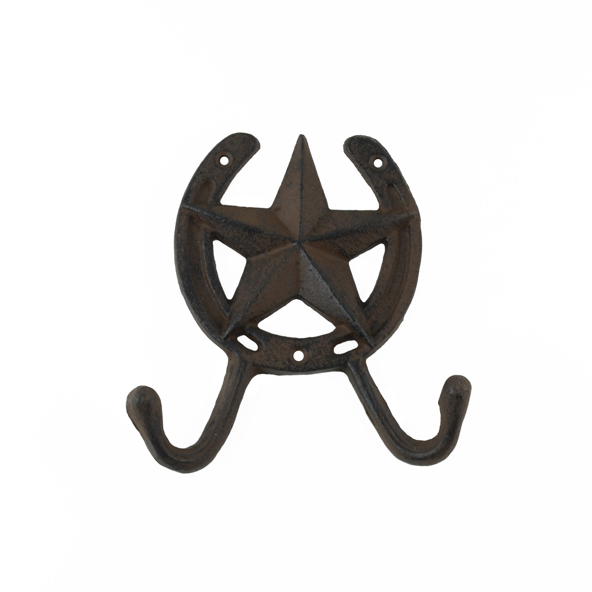 Cast Iron Horseshoe Key Hook Star Kitchen Bathroom Towel Holder Wall Coat Hanger