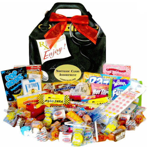 Candy Crate Doctor Bag Classic Candy Gift Box