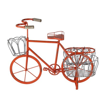 American mercantile hampton gardens bicycle plant stand - Bicycle planter stand ...