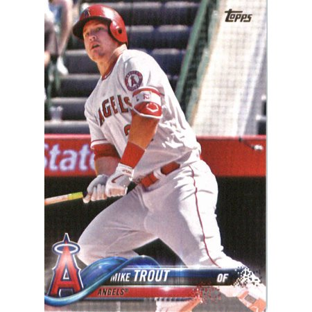 2018 Topps #300 Mike Trout Los Angeles Angels Baseball Card