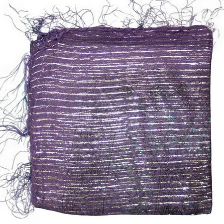 Purple Israeli Tichel Hair Cover Chemo Wrap Headscarf Scarves 100% Cotton Design