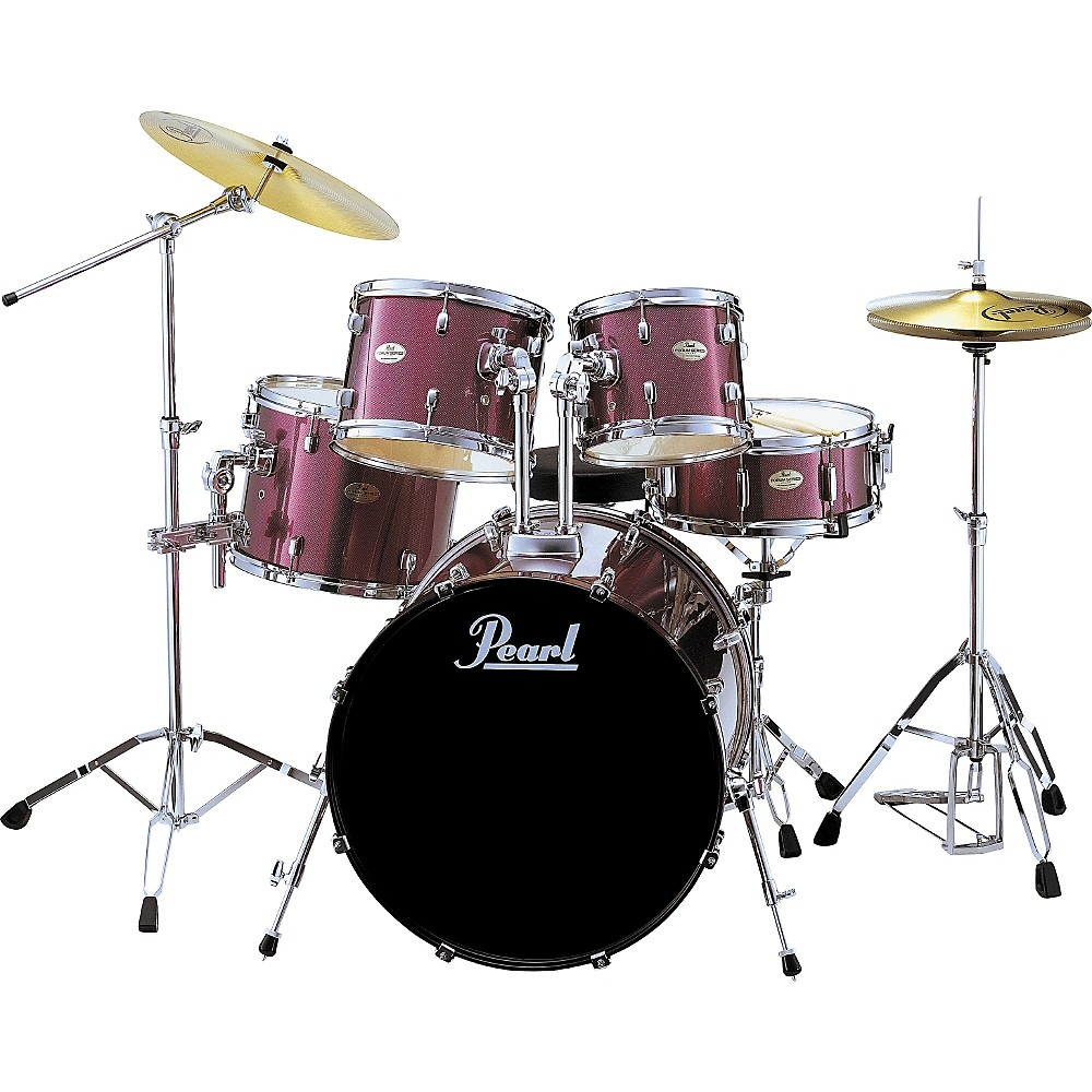 Pearl Forum 5-Piece Fusion Drum Set with Hardware ...