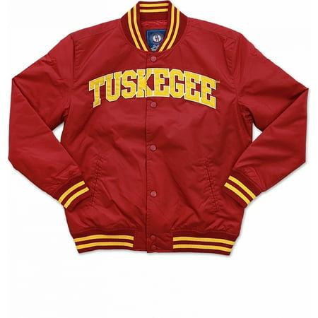 Big Boy Tuskegee Golden Tigers S3 Light Weight Mens Jacket [Crimson Red - L]