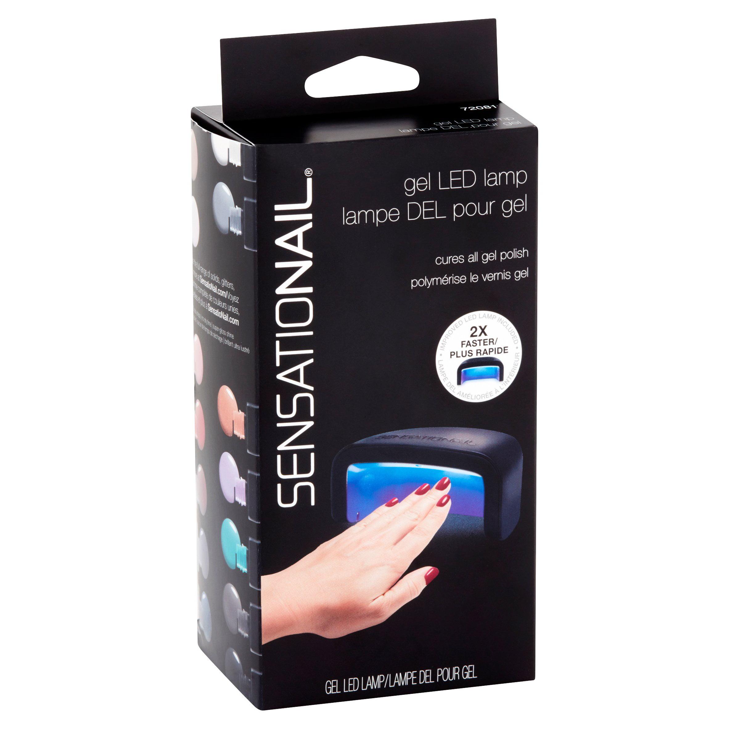 SensatioNail Pro 3060 LED Lamp Gel Polish Dryer - Walmart.com