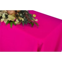 """Wedding Linens Inc. 54""""x96"""" Rectangular Polyester Table Cover Tablecloth for event, wedding, decoration use - Fuchsia"""