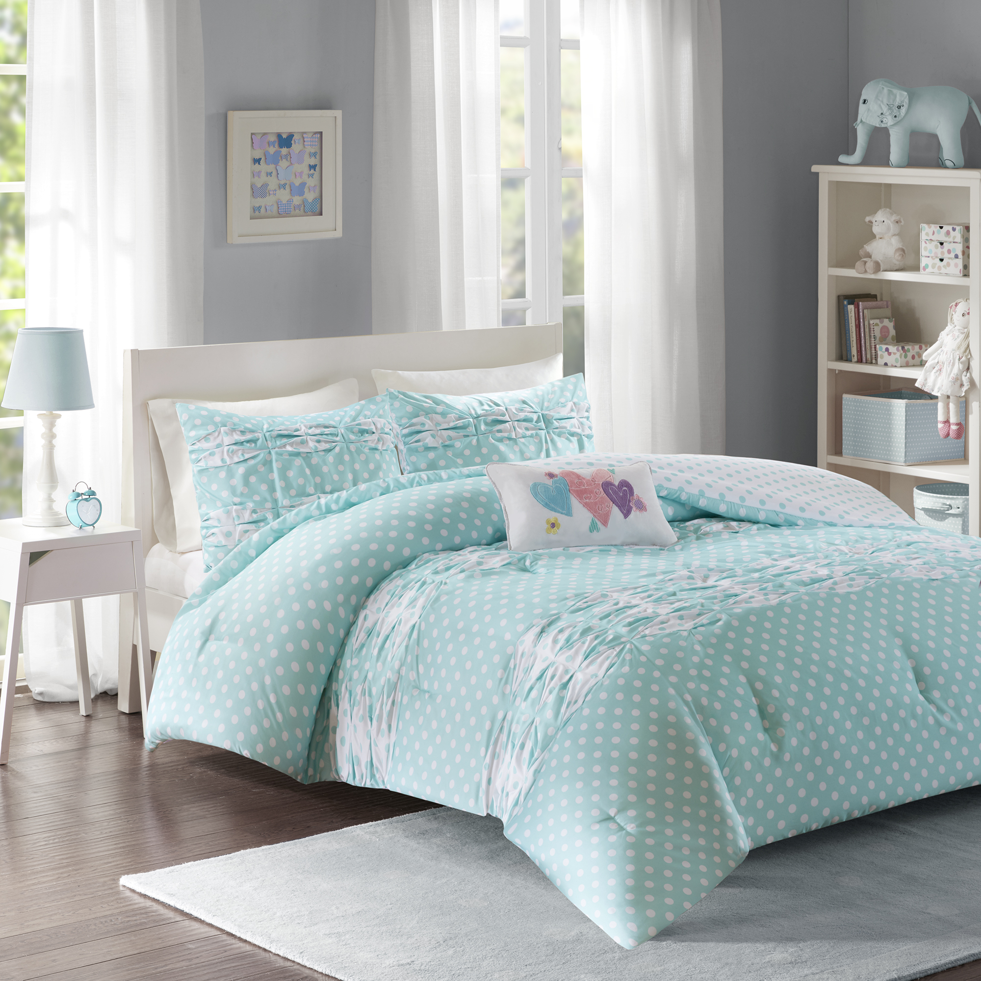 Home Essence Teen Ella Printed Comforter Bedding Set by E&E Co.