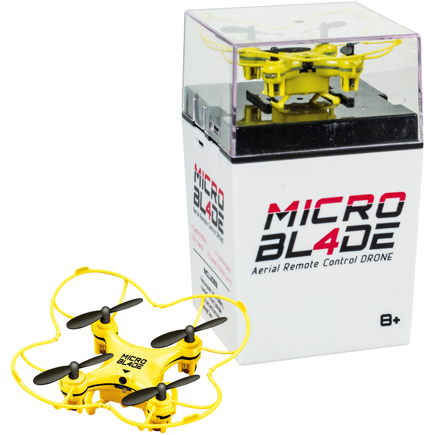 Micro Blade RC Drone, Yellow