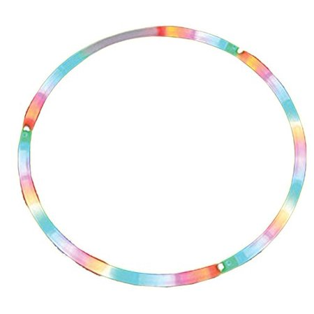 Cosmic Glow Hoola Hoop 28 Inches LED Lighted Twist Hula by Rhode Island Novelty