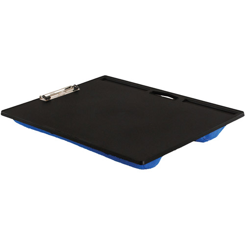 Lapgear 45105 Jumbo Student Lapdesk With Clip Blue